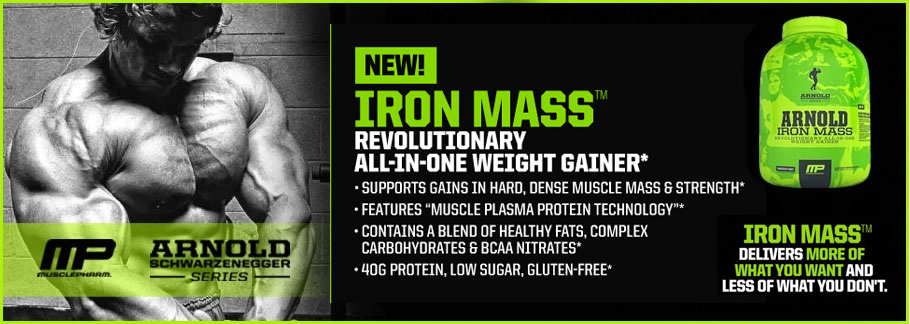 MusclePharm Iron Mass Arnold Series